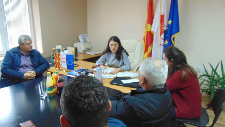Средба на Градоначалникот на Општина Могила со Претседателите на фудбалските клубови