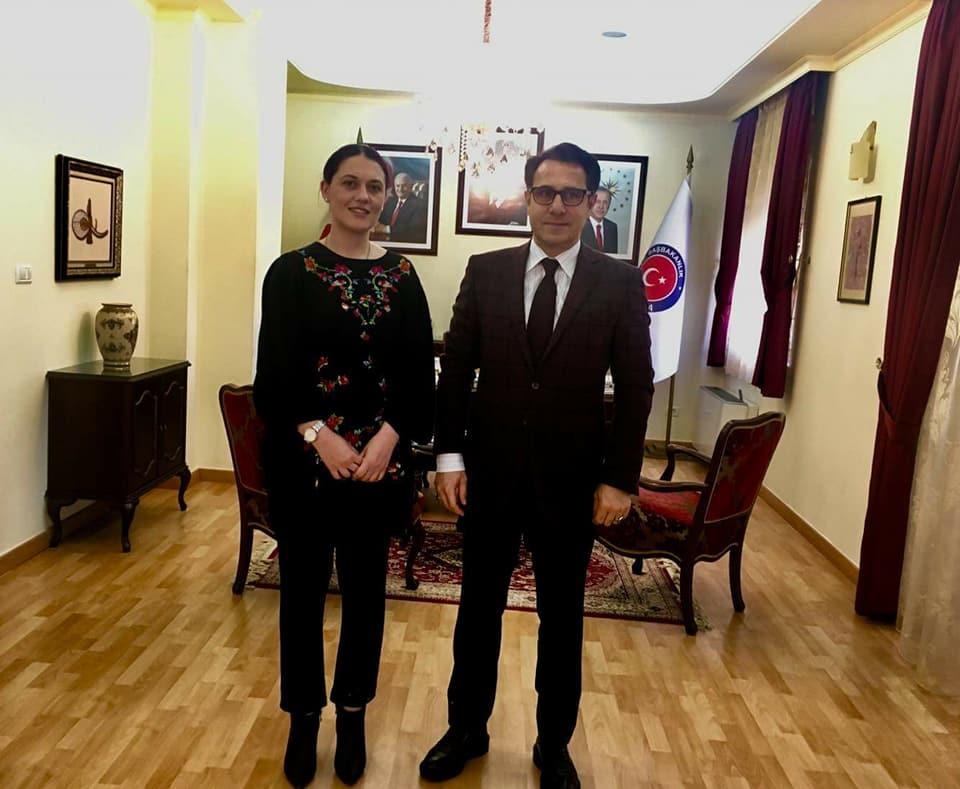 Остварена средба со Координаторот на програмската канцелерија на Турската агенција за соработка и координација (ТИКА)