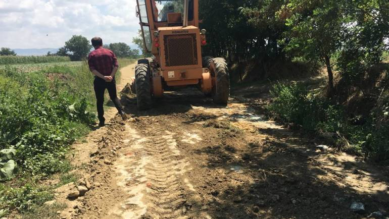 Општина Могила започна со санација и реконструкција на полските патишта