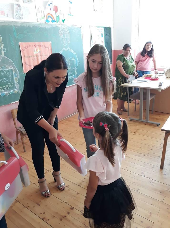 Училишен прибор за сите првоодделенци во Општина Могила