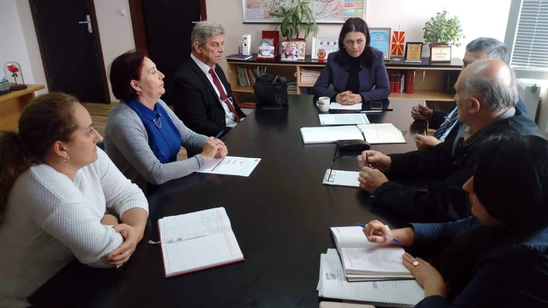 средба на Градоначалникот на Општина Могила со Директорот на Управата за јавни приходи