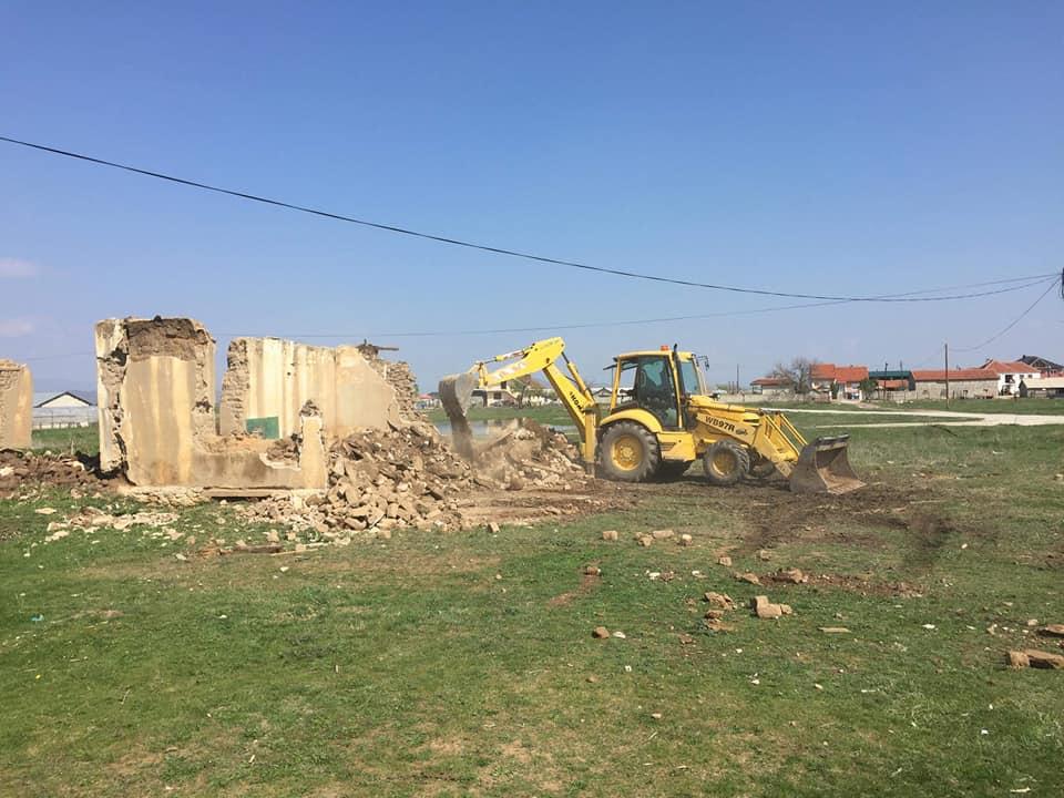 Уредување и чистење на јавни површини во Будаково