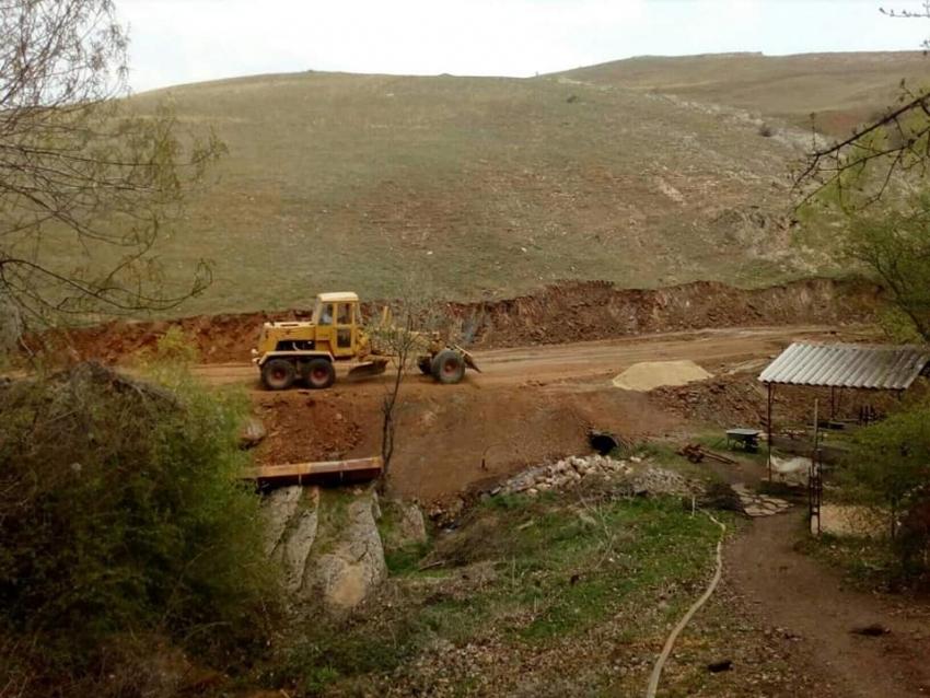 Во тек се повеќе инфраструктурни проекти во населените места во Општина Могила